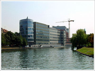 Buildings along Spree