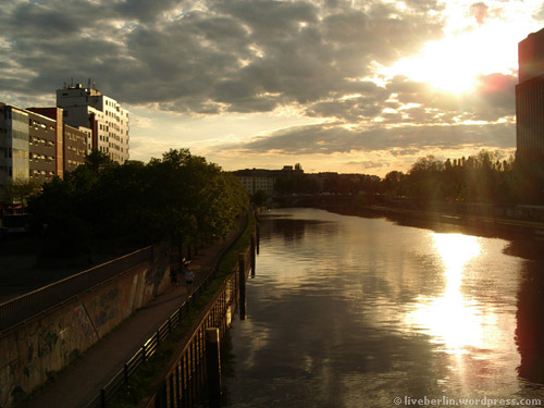 Evening at Spree River