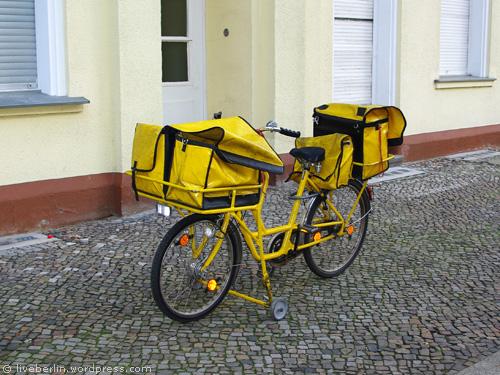 Postman's Bike in Berlin