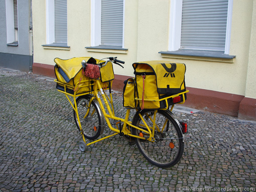 Postman's Bike in Berlin