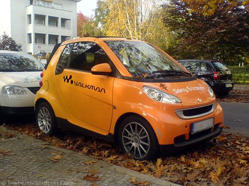 Walkman Smart in Berlin