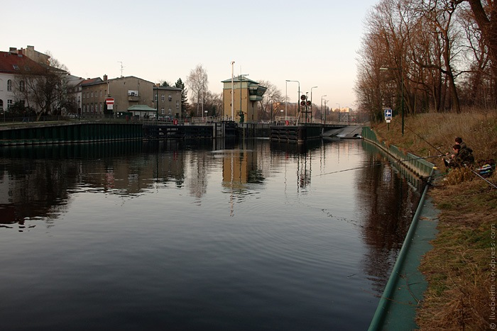 Sluice on a Channel near to Zitadelle Spandau