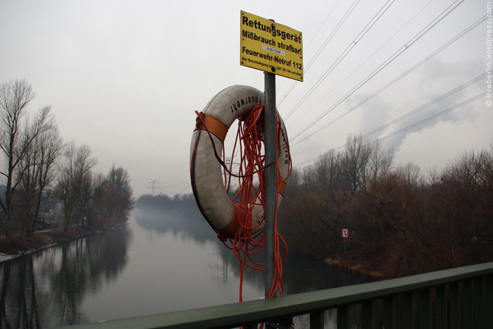 Lifebuoy on the Bridge
