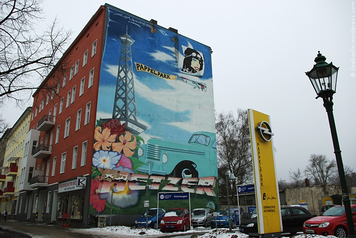 Mural Ad of the Car Dealer