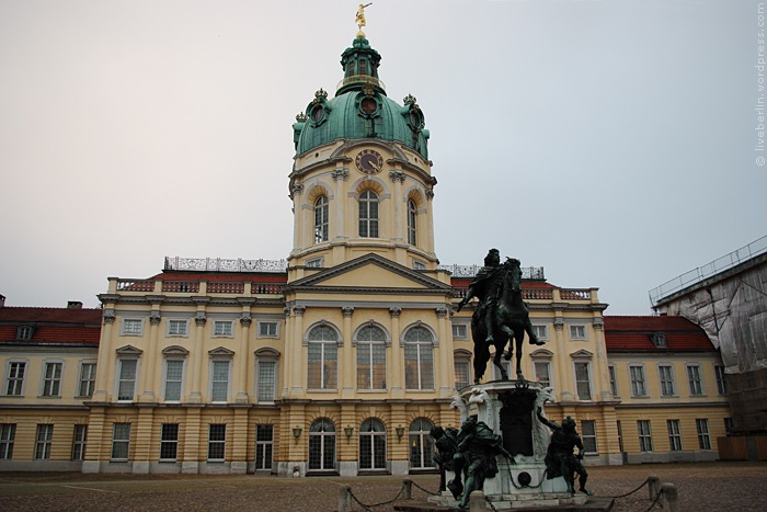 Charlottenburg Palace Seeing From The Front