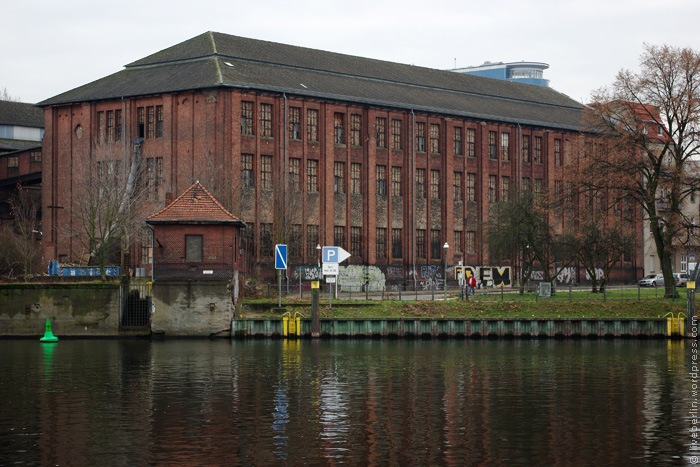Derelict Industrial Buildings at the Spree River
