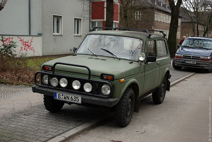 Old Russian SUV - Niva