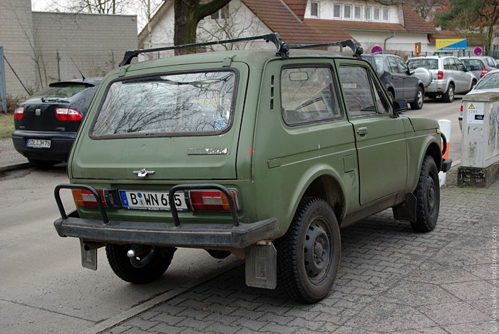 Old Russian SUV - Niva