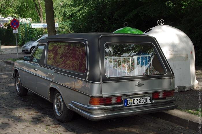 Old Mercedes-Benz Catafalque