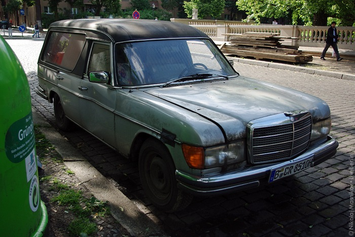 Old Mercedes-Benz Catafalque