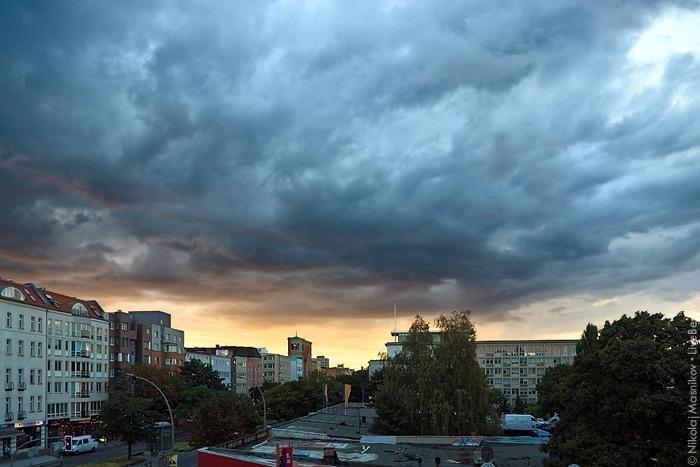 Sky Over West Berlin