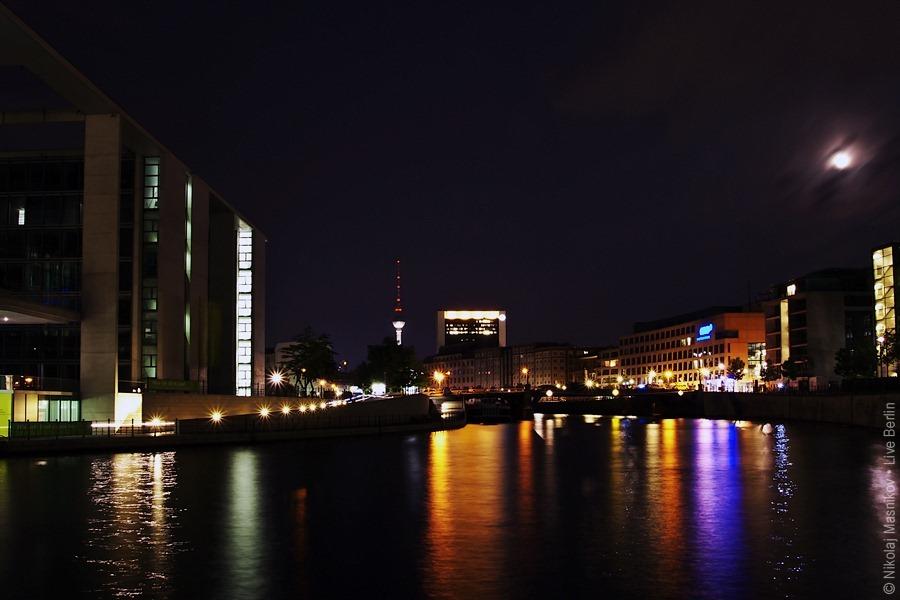 Spree Quay In The Night