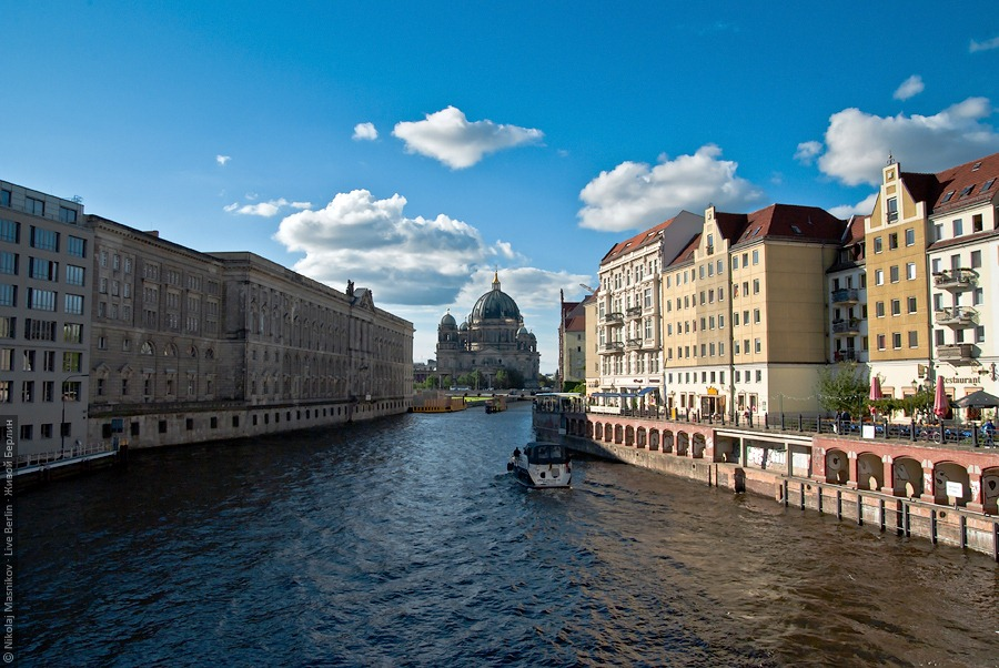 Spree River and Berlin Cathedral