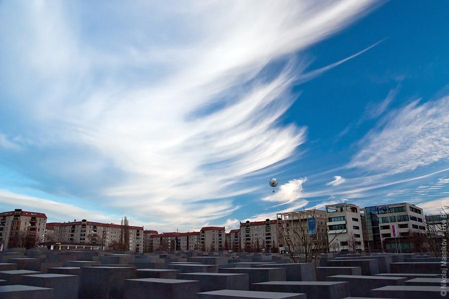 Sky Over the Holocaust Memorial